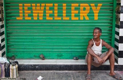 Staking Indiase juweliers