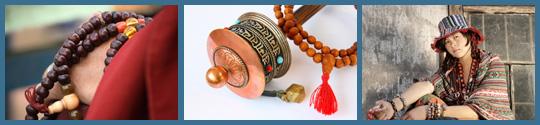Zilveren sieraden uit Tibet