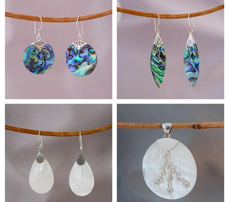Waarom je parelmoer of paua abalone schelp sieraden zou moeten dragen