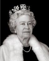 Queen Elizabeth met diamanten tiara