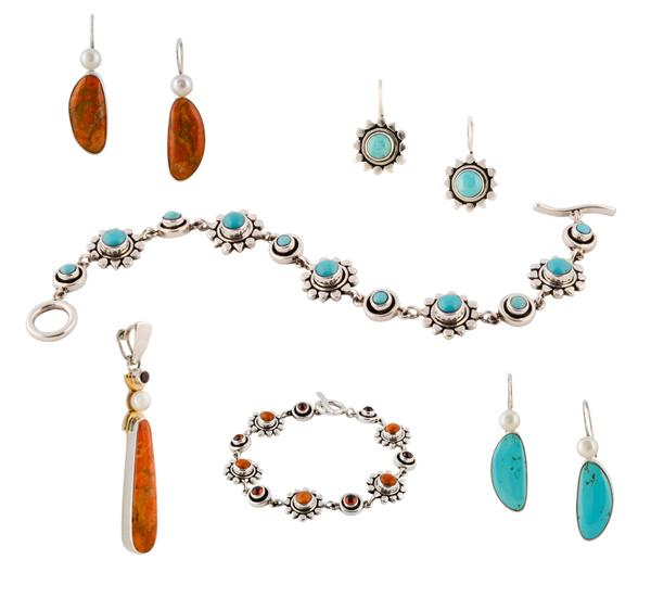 Zilveren sieraden uit mexico